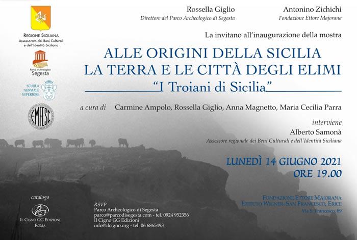 I troiani in Sicilia. La Mostra a Erice