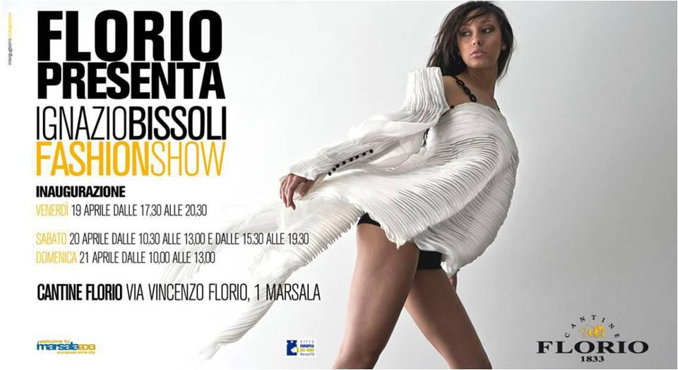 Ignatius Bissoli Fashionshow April 19 in Marsala