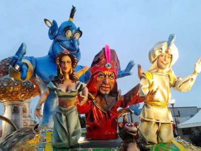 The carnival in Trapani Province