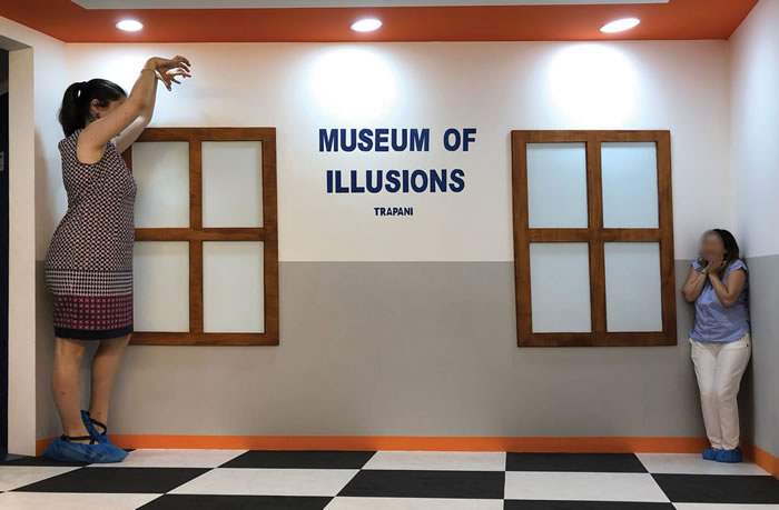 The museum of illusions of Trapani
