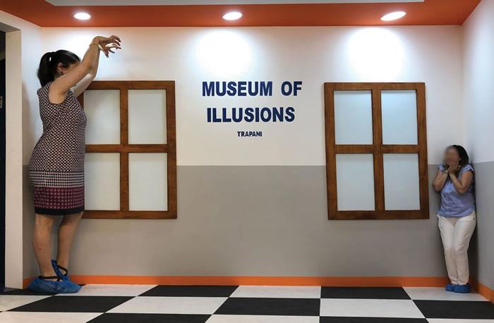 Il museo delle illusioni di Trapani