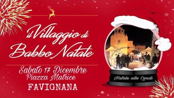 Il villaggio di Babbo Natale a Favignana