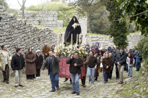 2017 route procession of the Mysteries of Erice