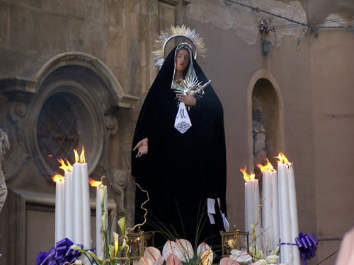 Itinerary procession of the mysteries trapani 2018