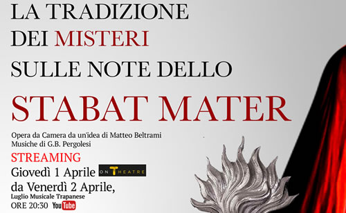 The tradition of the Misteri on the notes of the Stabat Mater