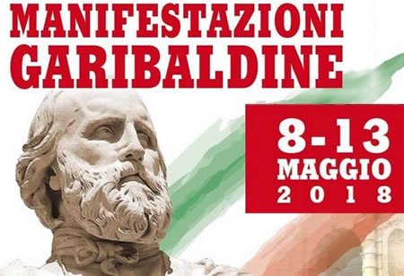 Manifestazioni Garibaldine 2018 a Marsala