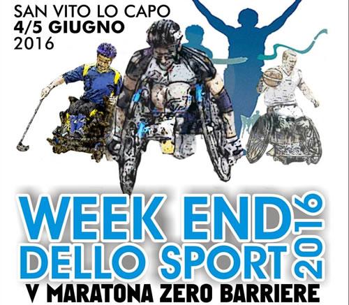 Zero barriers marathon in San Vito lo Capo