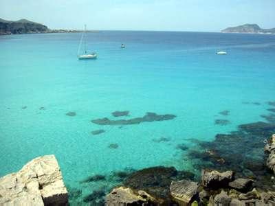 Mare di Favignana protetto