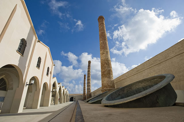 Exhibitions and suggestion at Ex Florio Factory in Favignana