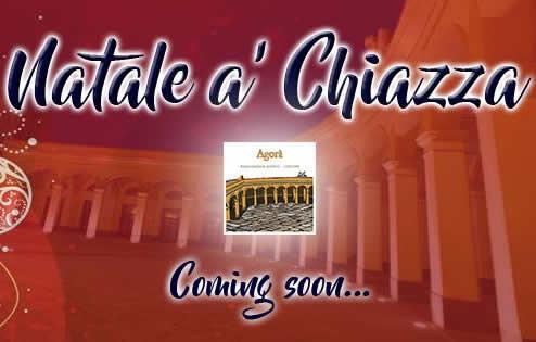 Natale 2016 a´ Chiazza Trapani - Programma completo