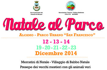 Christmas in Alcamo: music, nativity scenes and animations.