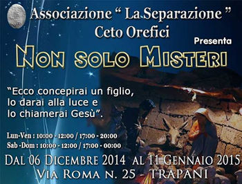 Not only misteries in Trapani for Christmas