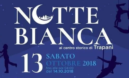 Notte bianca il 13 ottobre a Trapani
