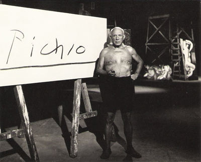 Pablo Picasso at Pepoli Museum in Trapani
