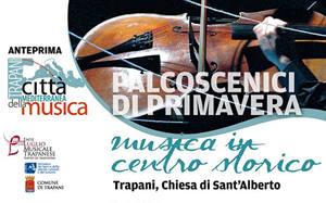 Palcoscenici di Primavera - Musica in centro storico Trapani