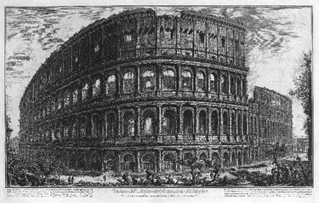 Piranesi on display at the Pepoli Museum