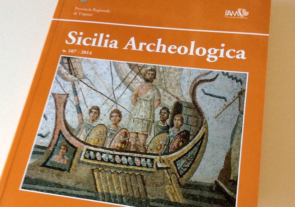 Presentazione del n. 107 della rivista SICILIA ARCHEOLOGICA