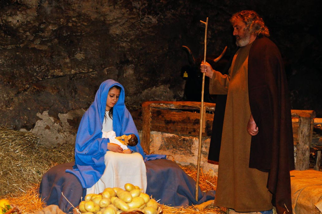 2015 Living Nativity of Custonaci
