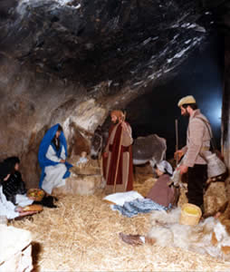 Live nativity in the province of Trapani