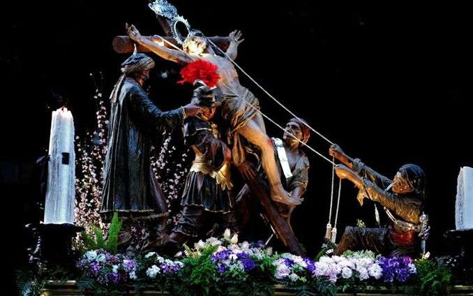 2016 Procession of Mysteries of Trapani - Itinerary