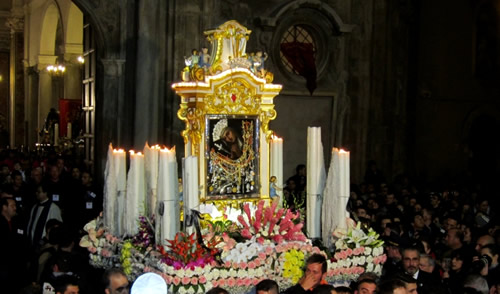 Procession of the two Madonnas