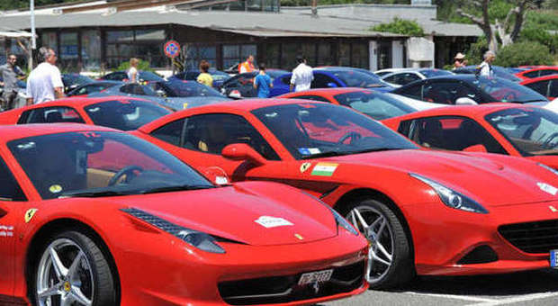 Ferrari meet in Trapani
