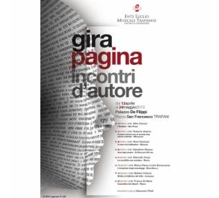 Roberto Alajmo racconta il primo amore giovedì 18 Aprile in Piazza San Francesco, a Trapani