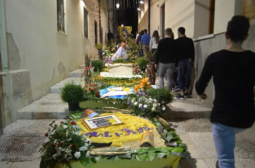 Staircase of San Domenico: between art and flowers