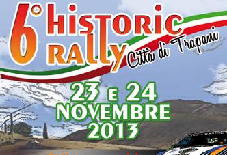 Sesta edizione di Historic Rally a Trapani