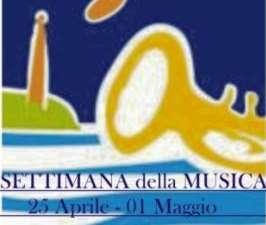 Settimana della Musica a San Vito Lo Capo dal 25 Aprile al 1 Maggio