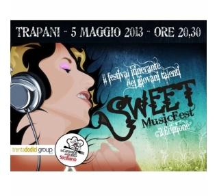 Sweet Music Fest, al mercato del pesce di Trapani il 5 Maggio