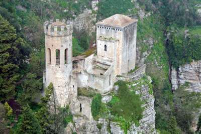Erice Pepoli Tower renewed