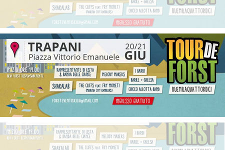 Tour de Forst in Trapani: music and beer for all!