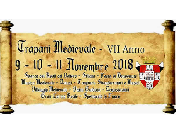 Medieval Trapani - 2018 edition