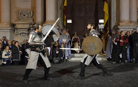 Medieval Trapani - historic reenactment Manfredi di Trinacria
