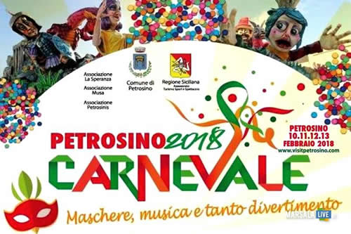 Tutto pronto per il Carnevale di Petrosino 2018