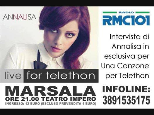 A song for Telethon in Marsala