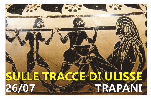 Walking tour on the tracks of Ulysses in Trapani