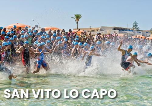 XI Triathlon sprint a San Vito lo Capo