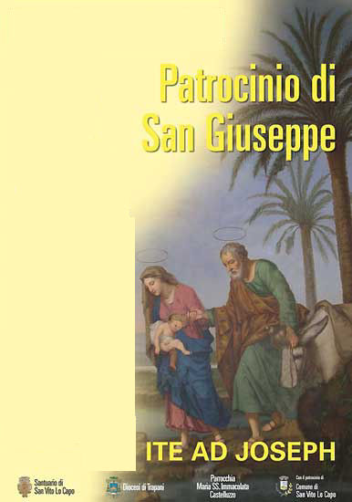 May 10, the feast of the Patronage of St. Joseph in Castelluzzo