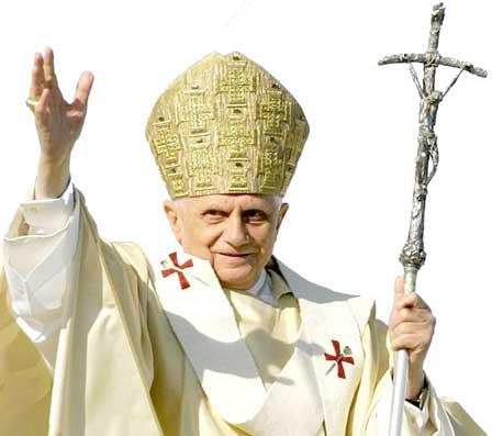 In 2000 da Trapani per la visita di Papa Benedetto XVI a Palermo