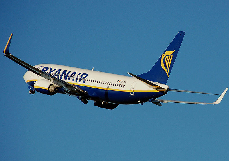 AIRPLANES: NEW RYANAIR FLIGHTS -  BRUXELLES, PARIS, TRAPANI