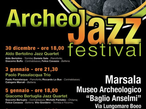 Today and tomorrow. Last two concerts of Archeo Jazz Festival in Marsala
