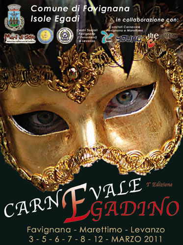 Programma carnevale Egadino a Favignana