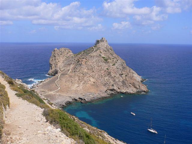 Marettimo. Punta Troia castle reborn