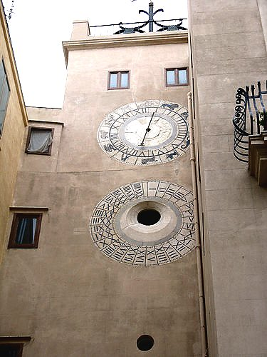 Trapani. Astronomic clock in Torre Oscura was restored