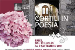 I CORTILI IN POESIA - ERICE
