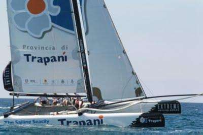 Extreme Sailing Series: Starts Act 6 in Trapani