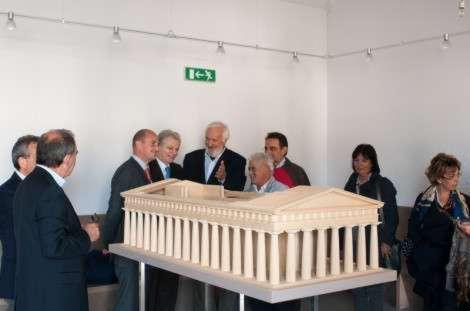 Il tempio di Giove sara' ricostruito