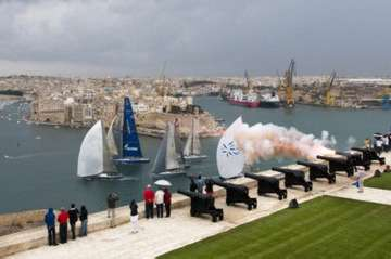 Rolex Middle Sea Race 2011 in Favignana